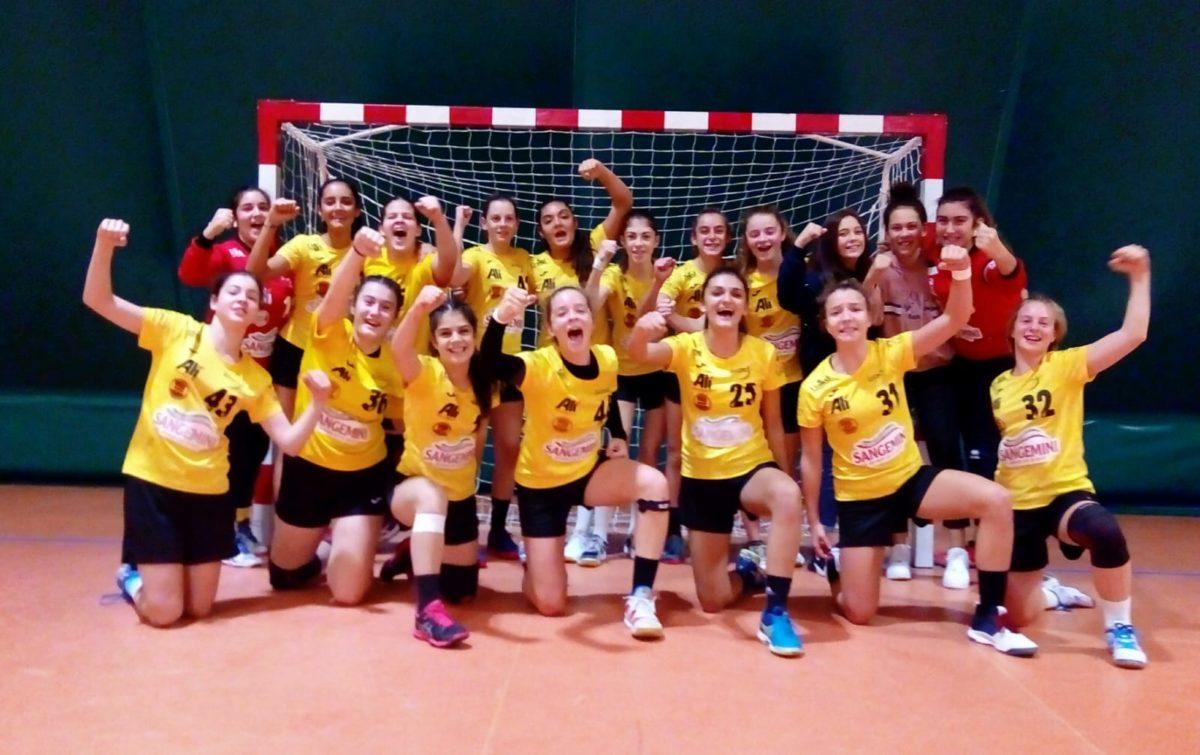 La gioia delle nostre U17 vittoriose su Oderzo