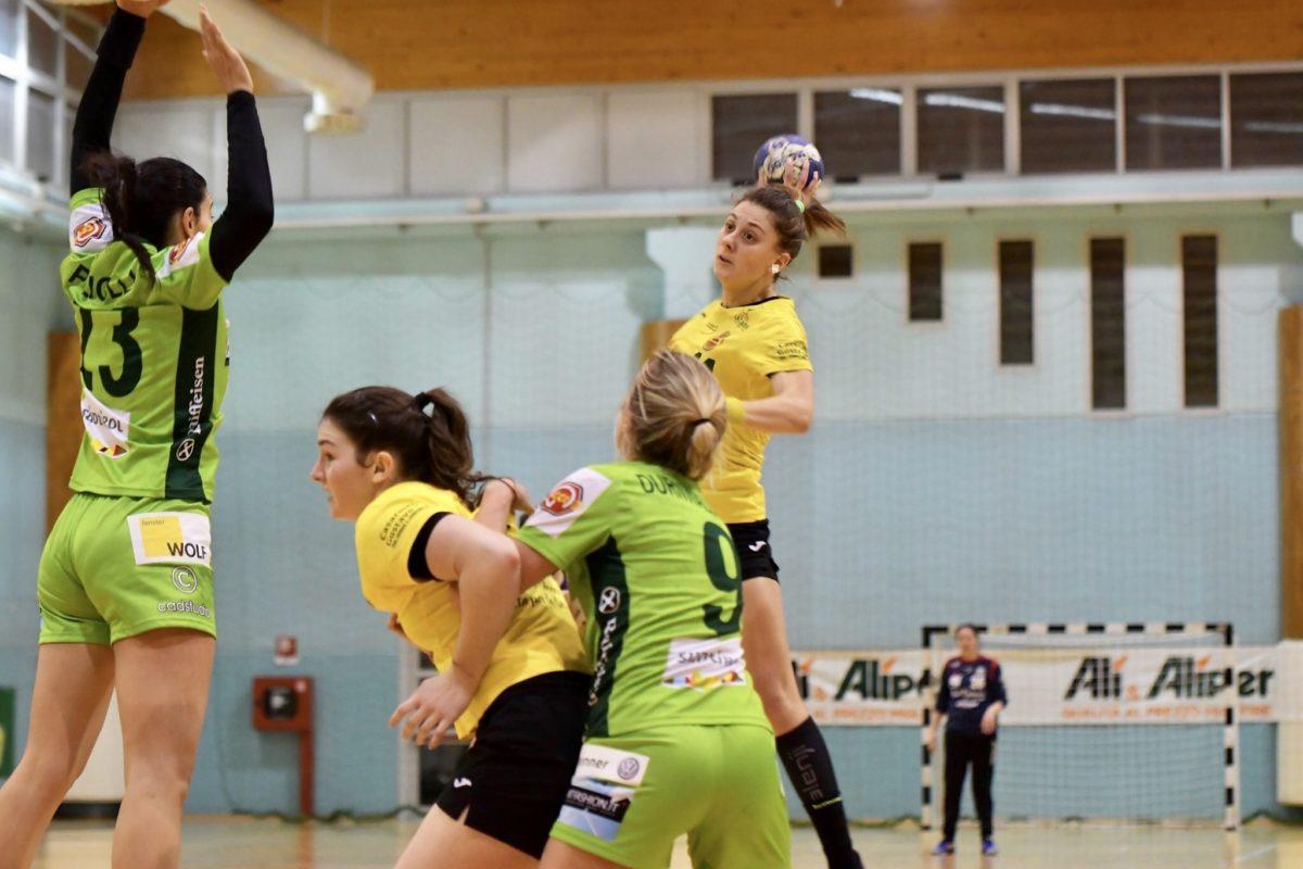 Giovanna Lucarini, autrice di 9 reti contro Brixen