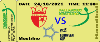 Tiket DHC Slavia Praha vs Alì Mestrino